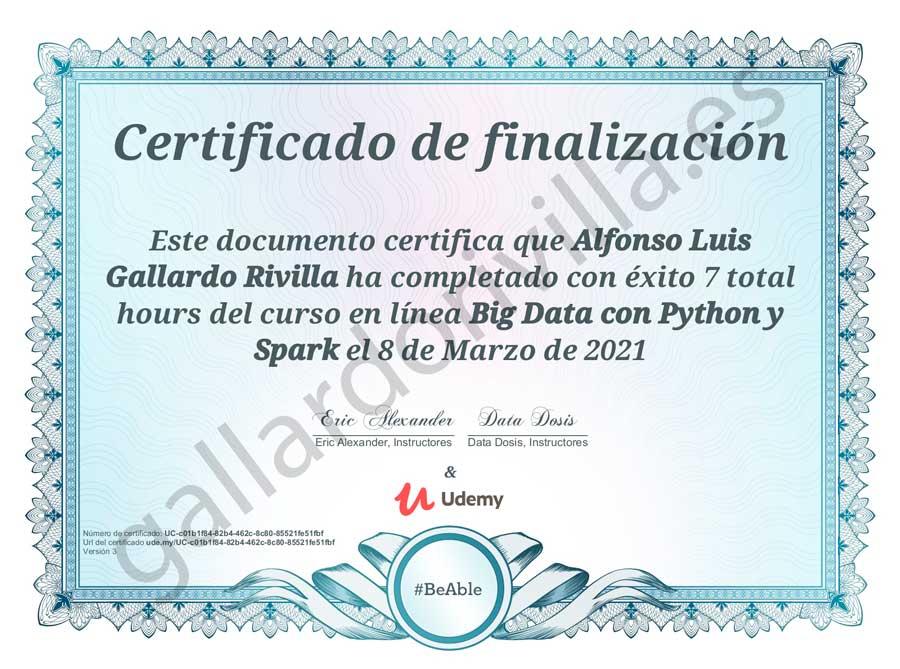 Big data con Python y Spark