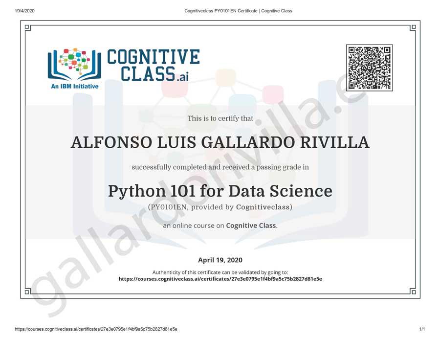 Cognitiveclass Python