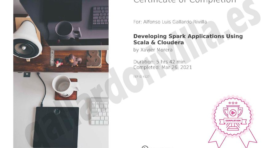 Developing Spark Applications Using Scala & Cloudera